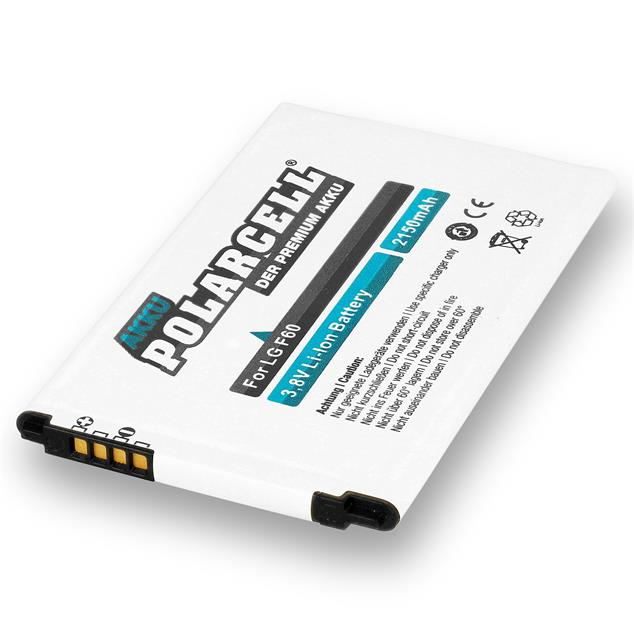 PolarCell Li-Ion Replacement Battery for LG F60 (D390N)