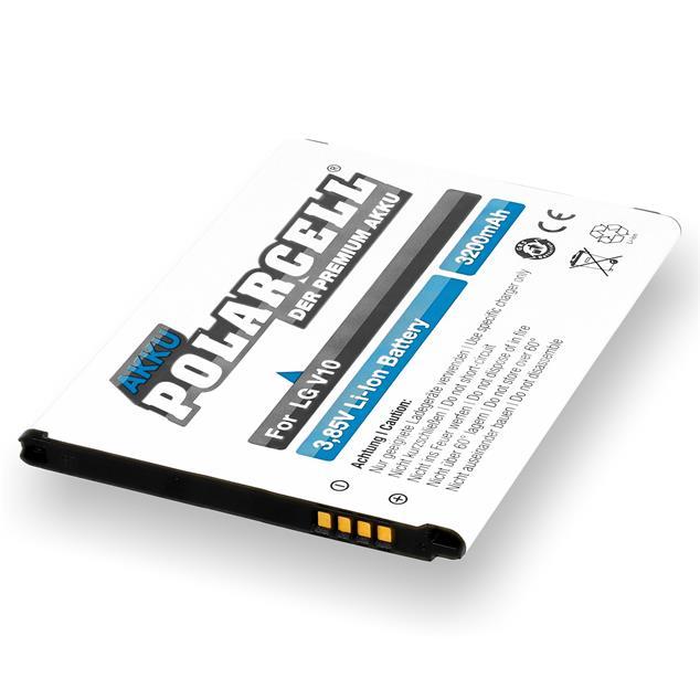 PolarCell Li-Ion Akku für LG V10 (H960A)
