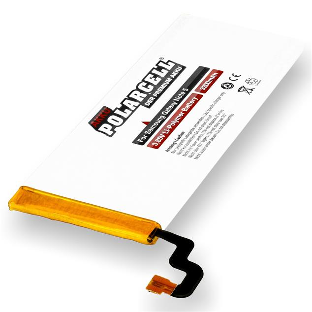 PolarCell Li-Polymer Replacement Battery for Samsung Galaxy Note 5 (SM-N920F)
