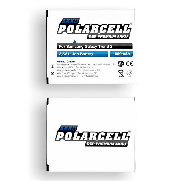 PolarCell Li-Ion Akku für Samsung Galaxy Trend 2 (SM-G313HN)