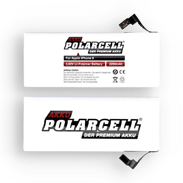 PolarCell Li-Polymer Battery replaces original Apple APN 616-0807