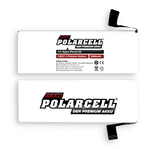 PolarCell Li-Polymer Battery replaces original Apple APN 616-00106