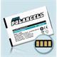 PolarCell Li-Ion Akku für HTC Touch Pro 2 (T7373)