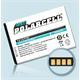 PolarCell Li-Ion Akku für LG Optimus L7 (P700)