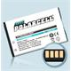 PolarCell Li-Ion Replacement Battery for BlackBerry 8800