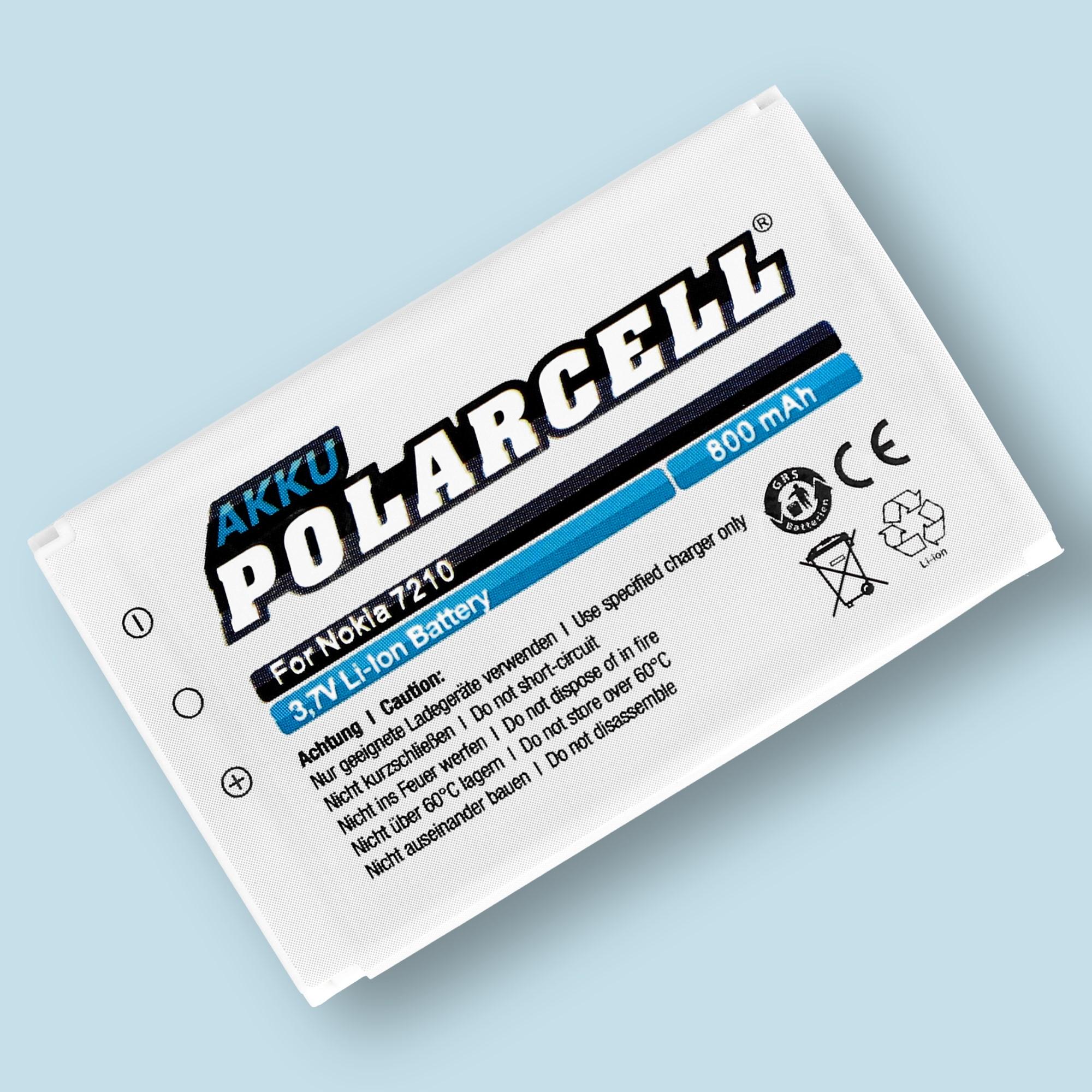PolarCell® Hochleistungsakku für Nokia 2100, ersetzt Originalakku BLD-3