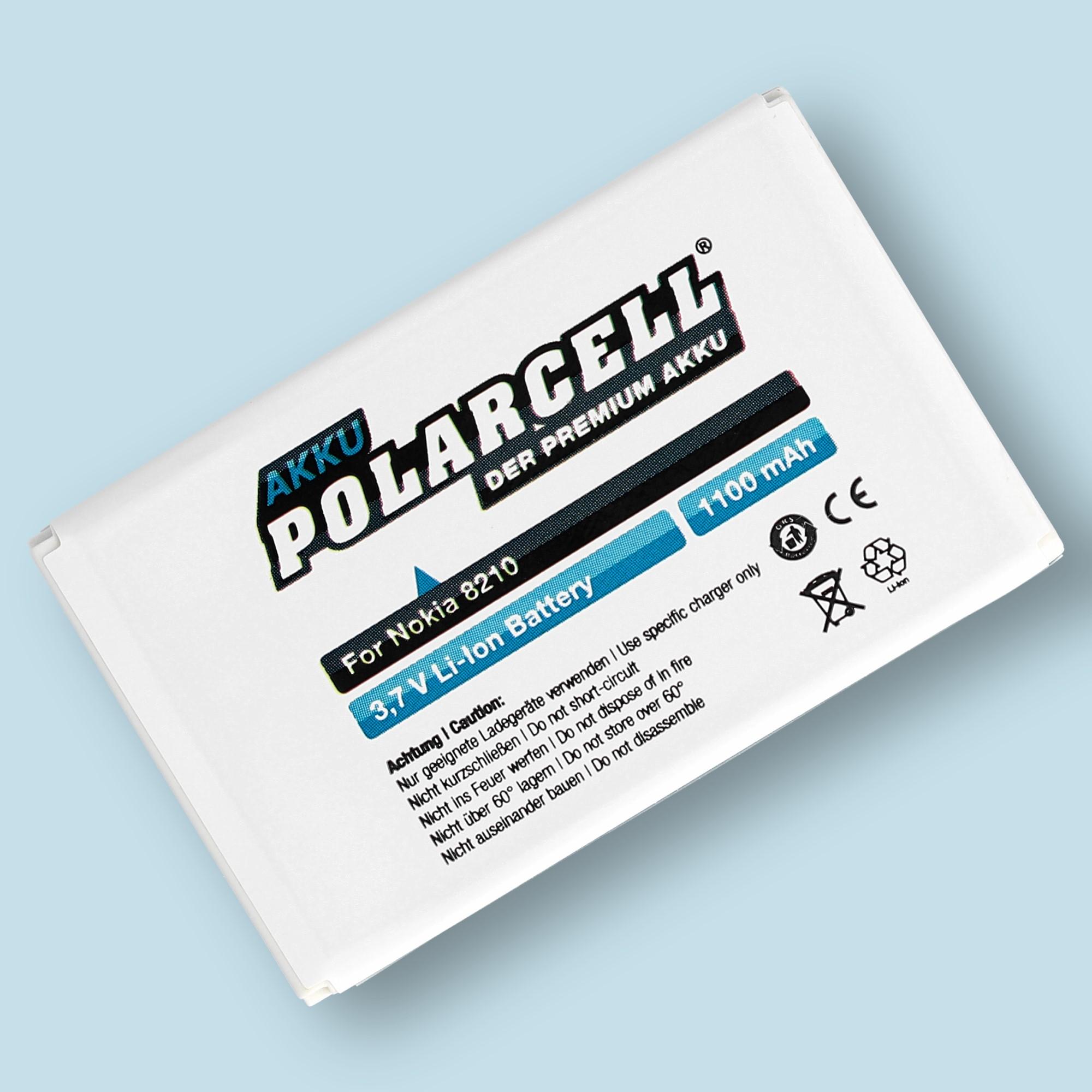 PolarCell® Hochleistungsakku für Nokia 6510, ersetzt Originalakku BLB-2