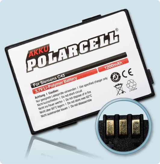 PolarCell® Hochleistungsakku für Siemens A50