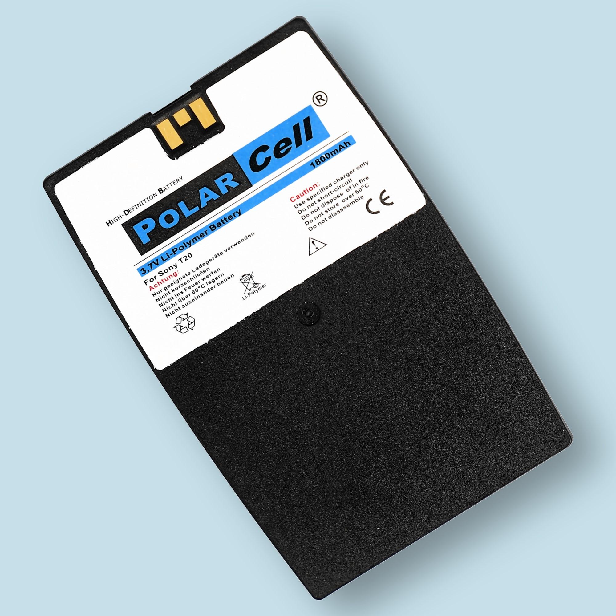 PolarCell® Hochleistungsakku für Sony-Ericsson T20, ersetzt Originalakku BST-13
