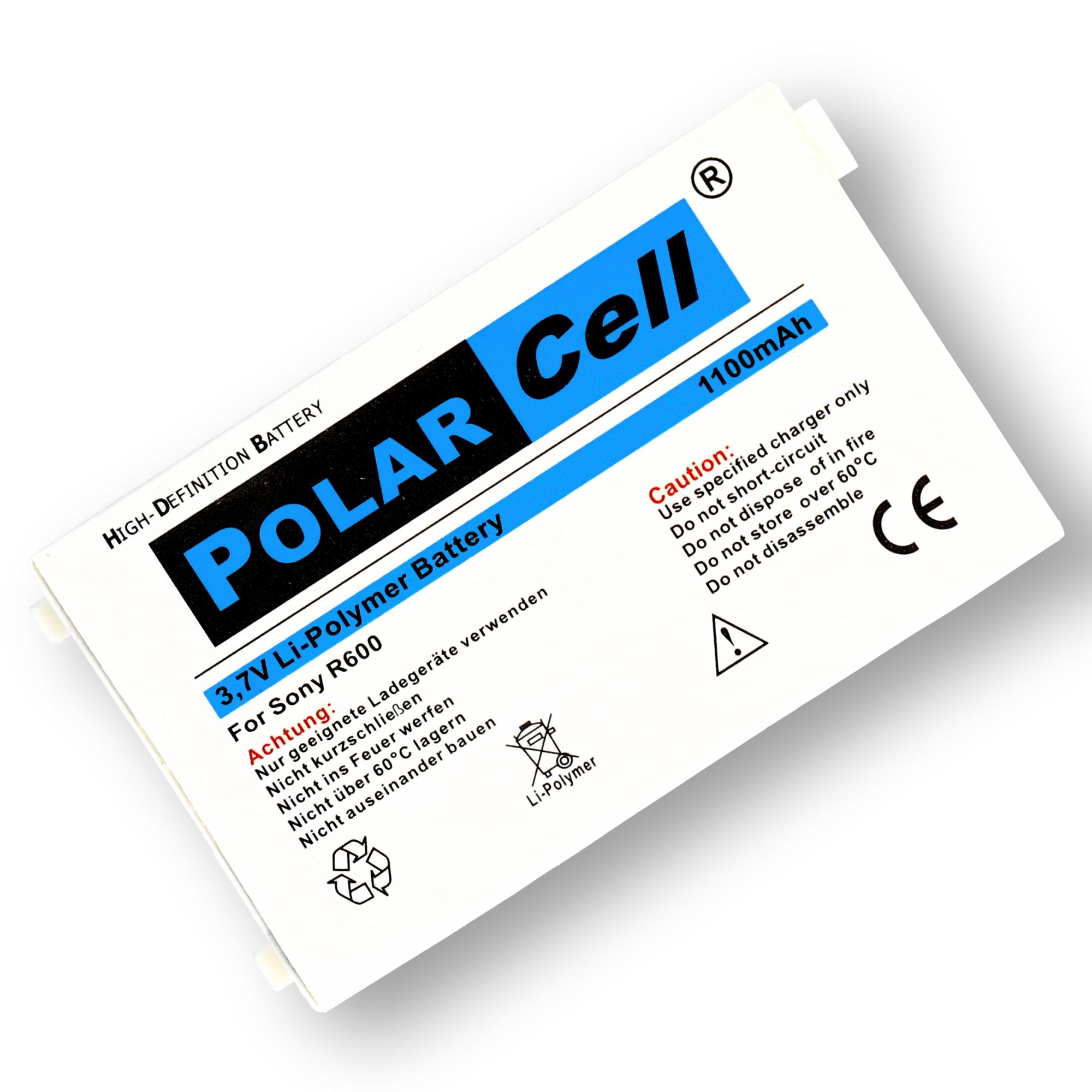 PolarCell-Batterie-pour-Sony-Ericsson-R600-BST-20-1100mAh-Li-Polymer miniature 2
