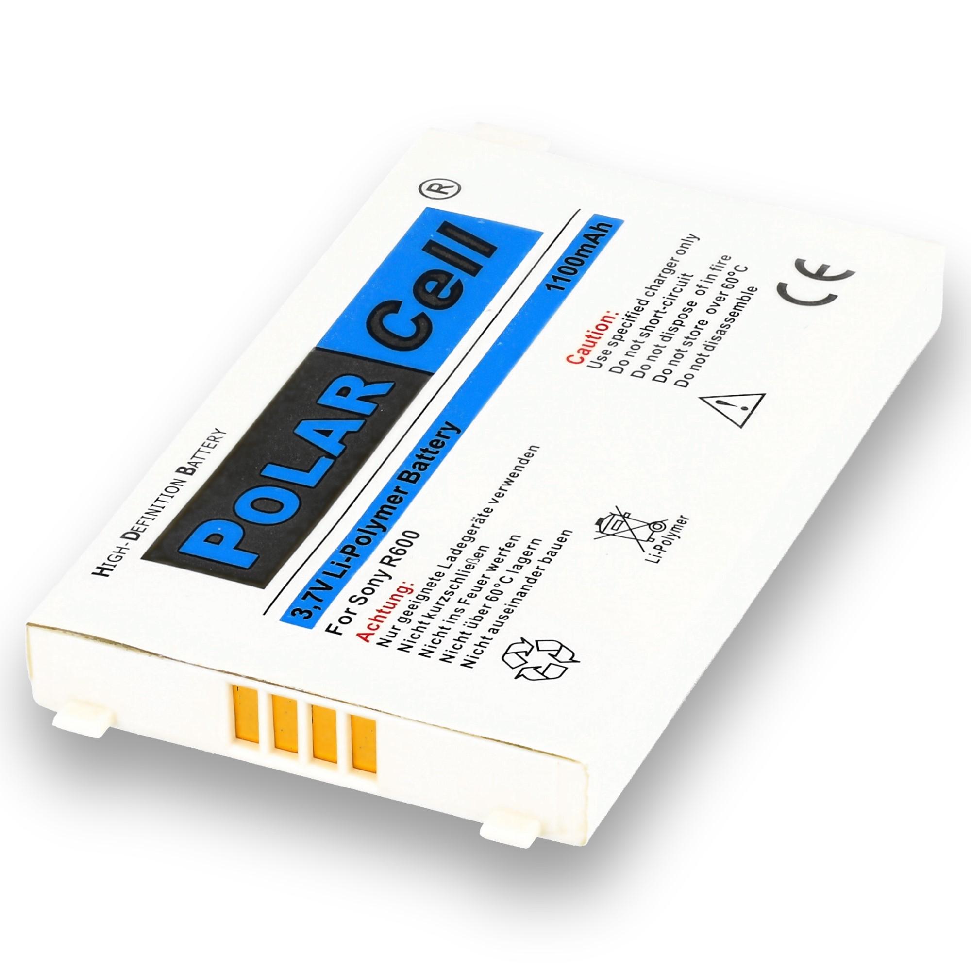 PolarCell-Batterie-pour-Sony-Ericsson-R600-BST-20-1100mAh-Li-Polymer miniature 3