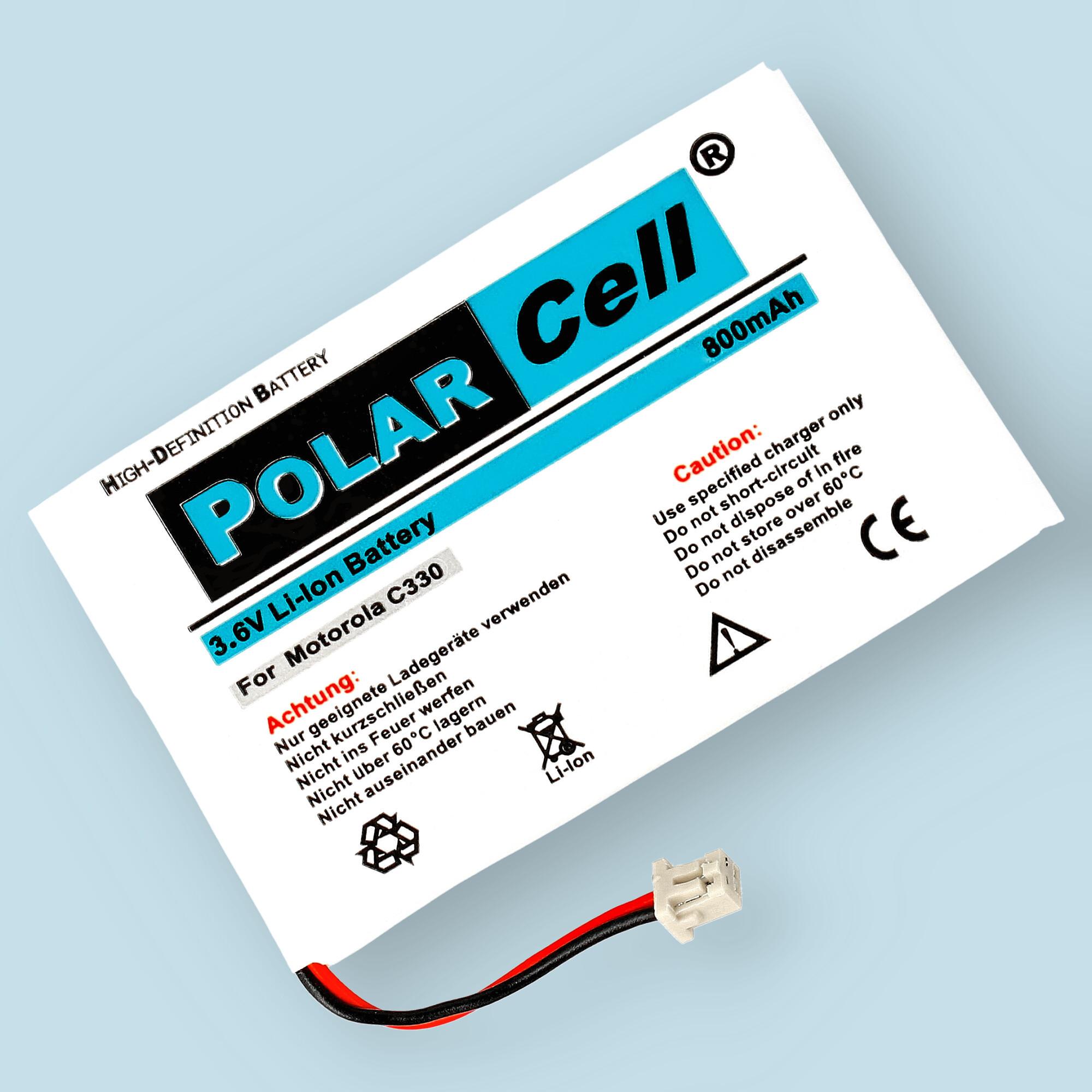 PolarCell® Hochleistungsakku für Panasonic C330