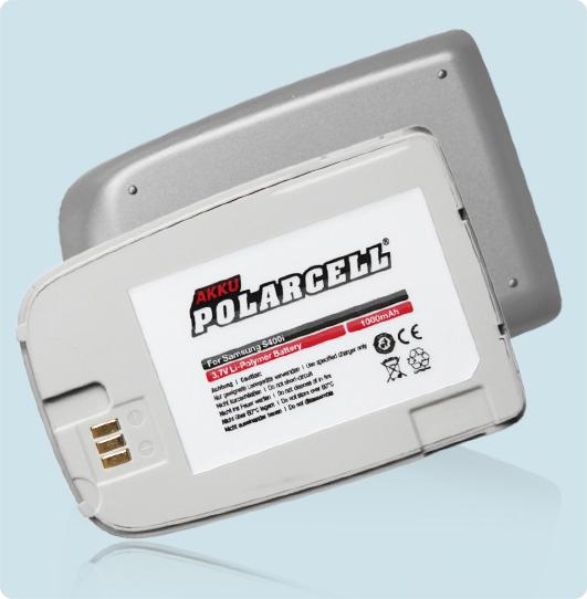 PolarCell Hochleistungs-Akku ersetzt Originalakku Samsung BST5518TE
