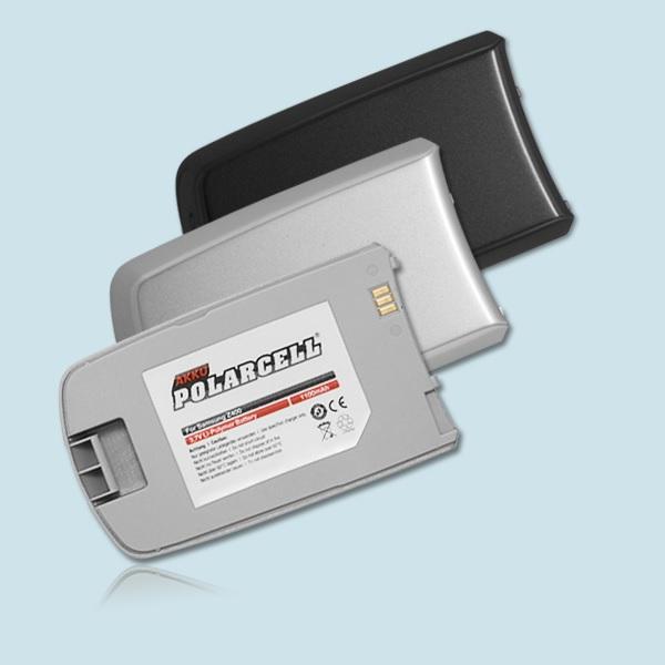 PolarCell® Hochleistungsakku für Samsung SGH-Z400, ersetzt Originalakku ABGZ4009BE