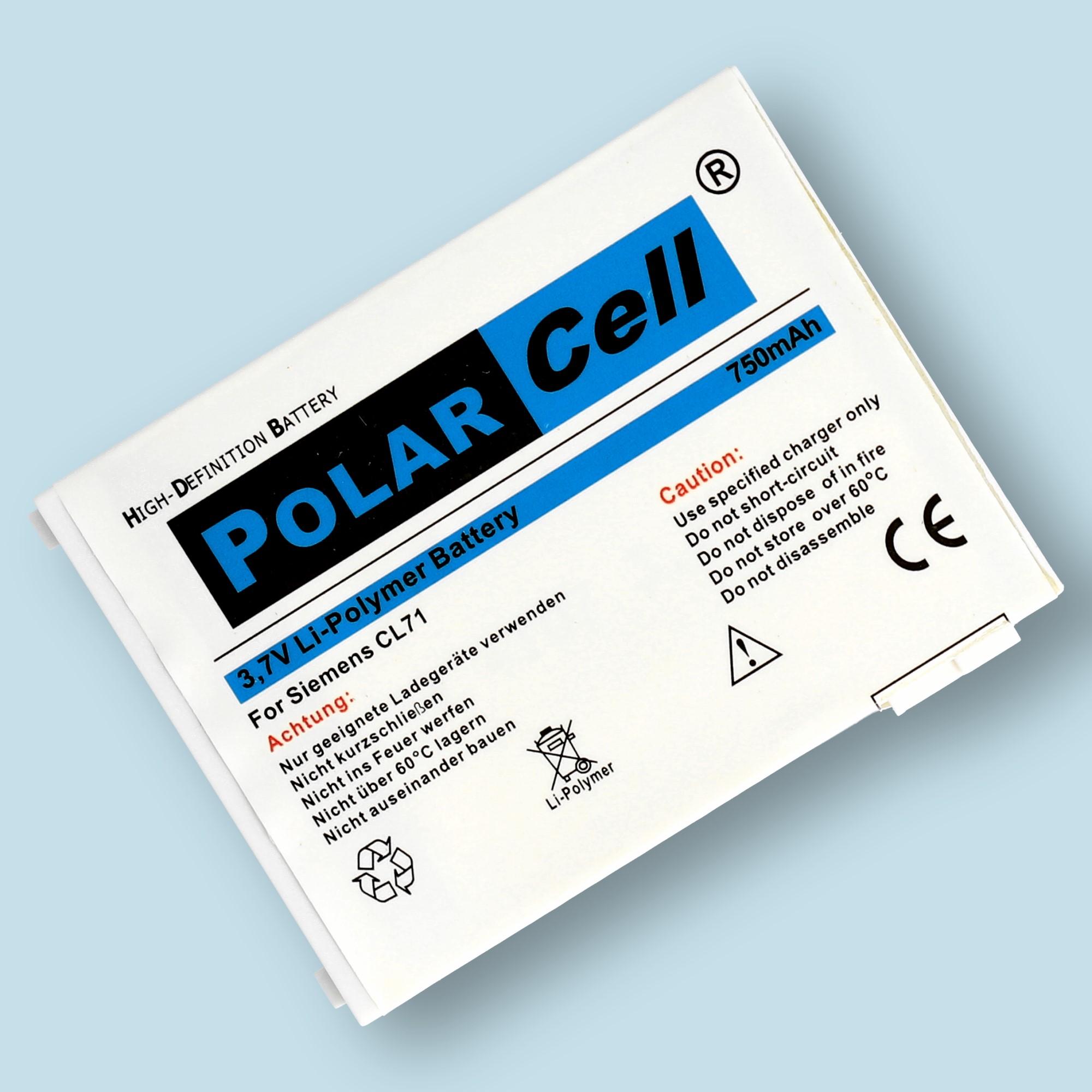 PolarCell® Hochleistungsakku für Siemens CL71
