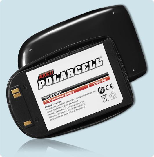PolarCell® Hochleistungsakku für LG KG220