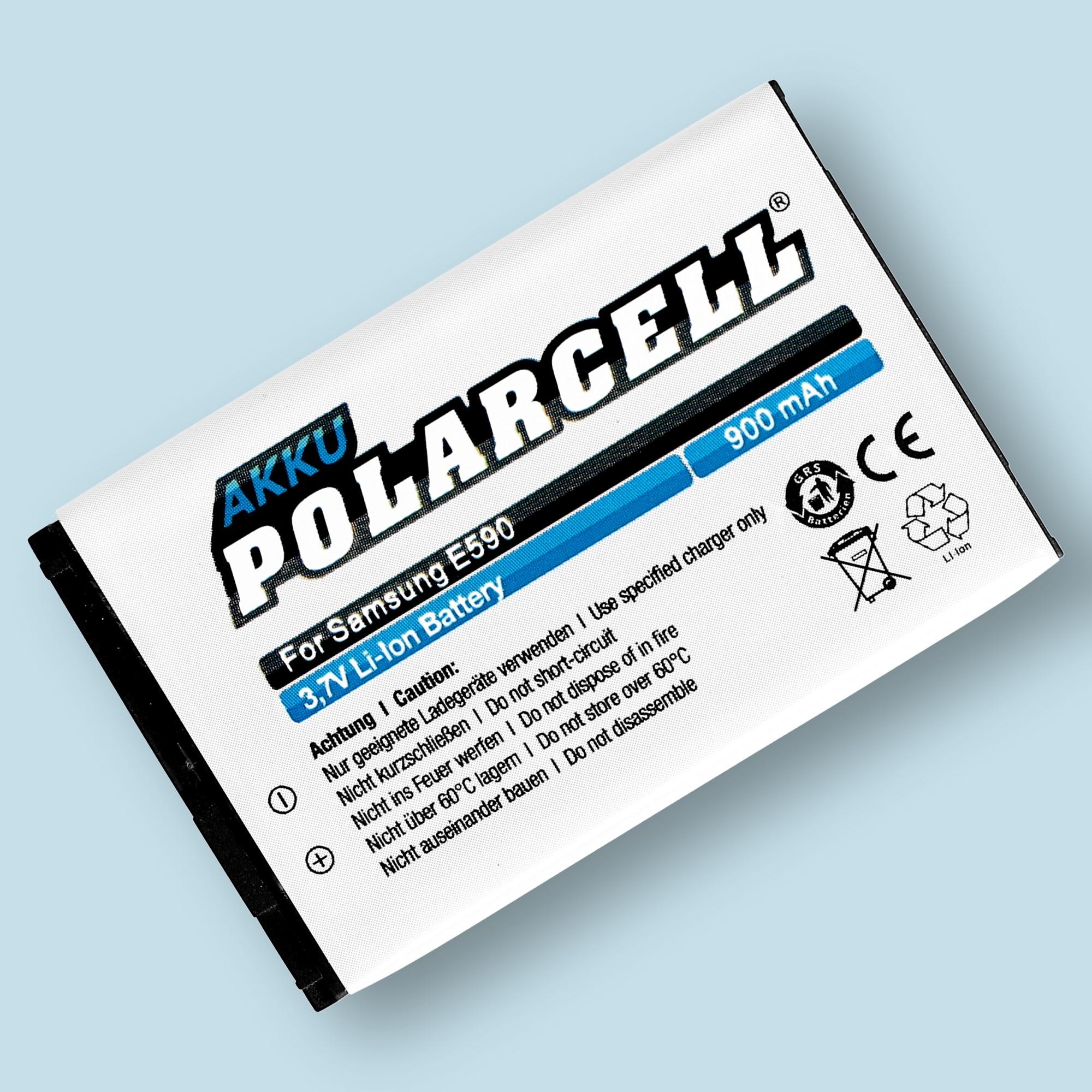 PolarCell® Hochleistungsakku für Samsung M3510, ersetzt Originalakku AB403450BE - BU