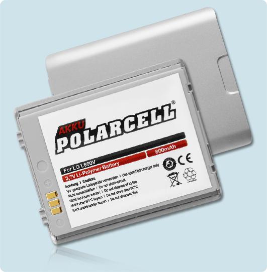PolarCell® Hochleistungsakku für LG L600V