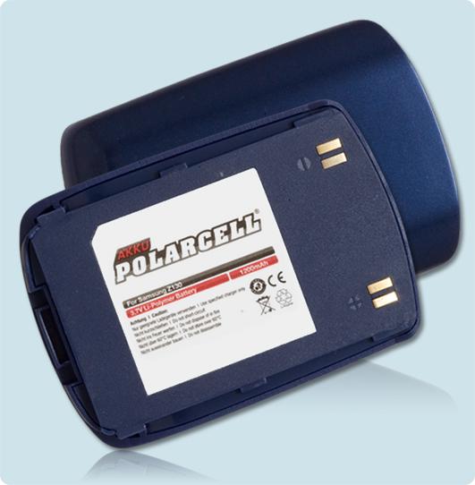PolarCell® Hochleistungsakku für Samsung SGH-Z130, ersetzt Originalakku BST390AKE