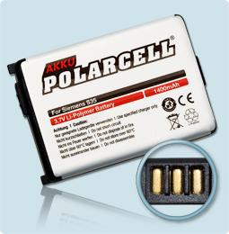 PolarCell® Hochleistungsakku für Siemens S35