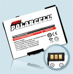 PolarCell® Hochleistungsakku für Siemens A51, ersetzt Originalakku EBA-510