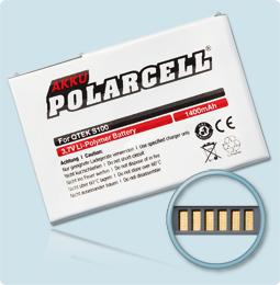 PolarCell® Hochleistungsakku für MDA Compact, ersetzt Originalakku PM16A