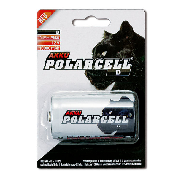 PolarCell Mono D Premium Ni-MH Akku [1er Blister]