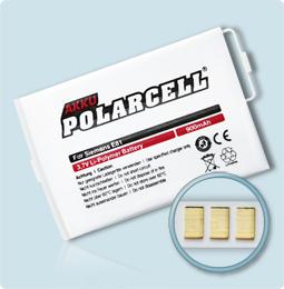 PolarCell® Hochleistungsakku für Siemens E81