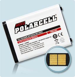 PolarCell® Hochleistungsakku für Sagem my400X