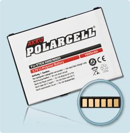 PolarCell® Hochleistungsakku für ETEN Glofiish M810