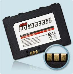 PolarCell® Hochleistungsakku für LG P7200, ersetzt Originalakku LGLP-GAEM