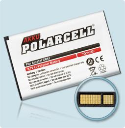 PolarCell® Hochleistungsakku für Alcatel OT C652