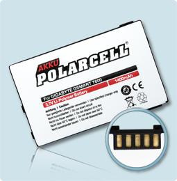 PolarCell® Hochleistungsakku für Gigabyte GSmart T600, ersetzt Originalakku A2K40-EB3010-Z0R