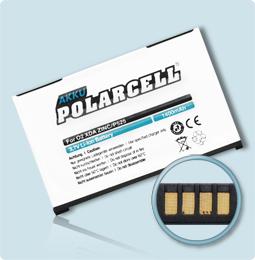 PolarCell® Hochleistungsakku für XDA Graphite