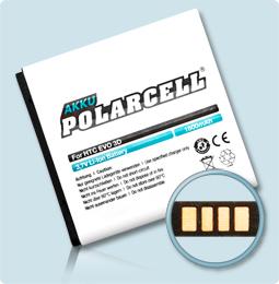 PolarCell® Hochleistungsakku für HTC Evo 3D, ersetzt Originalakku BA S560 - BG58100 -  BG86100