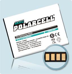 PolarCell® Hochleistungsakku für Samsung Galaxy Nexus GT-i9250 mit NFC-Antenne, ersetzt Originalakku  EB-L1F2HVU