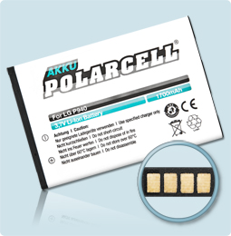 PolarCell® Hochleistungsakku für LG P940, ersetzt Originalakku BL-44JR