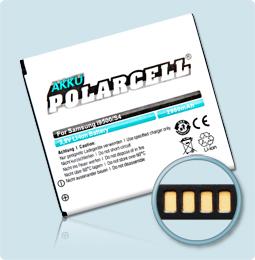PolarCell® Hochleistungsakku für Samsung Galaxy S4 ohne NFC-Antenne GT-i9500, ersetzt Originalakku  EB-B600BE