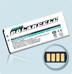 PolarCell® Hochleistungsakku für BlackBerry Z10, ersetzt Originalakku  LS-1
