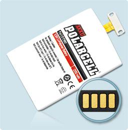 PolarCell® Hochleistungsakku für Samsung LG E960, ersetzt Originalakku BL-T5